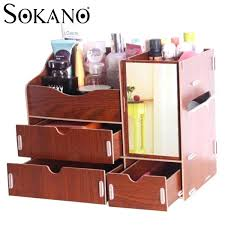 makeup organizer wood makeup organizer wood com