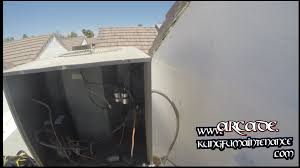 air conditioning outside unit. ac outside fan running but air conditioner not cooling hvac real time repair video - youtube conditioning unit