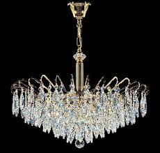 crystal chandelier lighting the aquaria