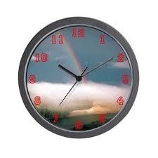 office wall clocks. Exellent Office Rainbow Clocks Wall Office Clock For Clocks