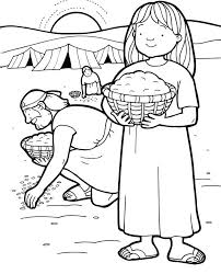 Small Picture god sends quail and manna coloring page manna and quail coloring