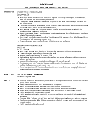 production coordinator resumes project coordinator resume examples rimouskois job resumes bunch
