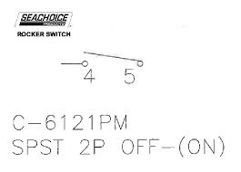 rock switch mom off spst blk seachoice 10881 iboats com rock switch mom off spst blk seachoice