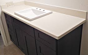 silestone bathroom countertops. Silestone Quartz In Haiku Color With 4 Inch Standard Backsplashes Stunning How To Polish Bathroom Countertops