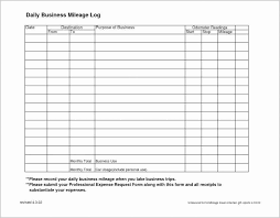 travel log templates vehicle mileage log template fresh 25 travel log template free