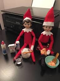 elf on the shelf making slime