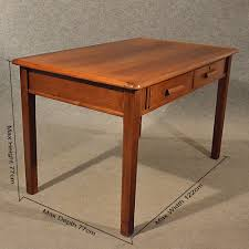 antique oak desk kitchen dining table vintage and retro writing desks
