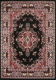 beige and black area rugs black area rug 4 x 6 small oriental carpet actual 3
