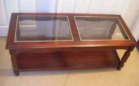 dark wood coffee tables with glass top popular designs 779 480