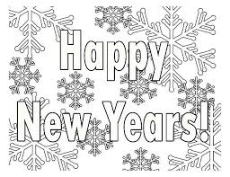 Small Picture Printable New Years Coloring Pages Coloring Me