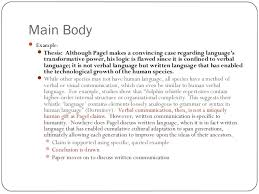 english structuring your essay clarified 8 main body