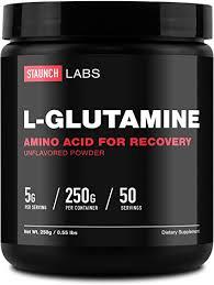 Staunch <b>L</b>-<b>Glutamine Powder</b> 250 Grams, 50 Servings <b>High Quality</b>