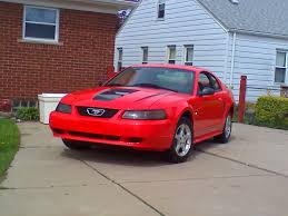 2000 Ford Mustang base 1/4 mile Drag Racing timeslip specs 0-60 ...