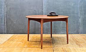 Danish Modern Dining Table Fifties Wagner Danish Modern Teak Dining Table