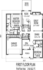 house plans with open floor plan. 2 Bedroom House With Open Floor Plan Single Story Plans Design O