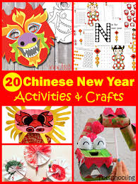 20 Chinese New Year Crafts & Activities for Kids | Totschooling ...