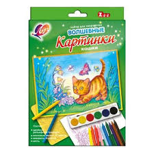 <b>Набор для творчества Луч</b> Волшебные картинки Кошки ...