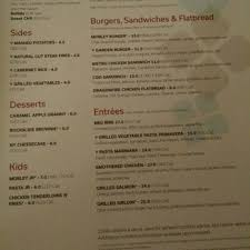 photo of the garden grille and bar pittsford ny united states menu