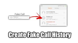 How To Create Fake Call History - Youtube
