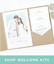 photo wedding invitations picture wedding invitations Simple Folded Wedding Invitations welcome pocket kits folded brochures business postcards printables · wedding simple pocket wedding invitations