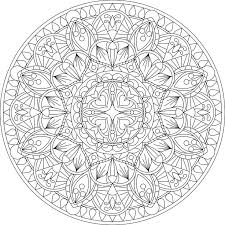 Printable Mandala Coloring Pages For Adults