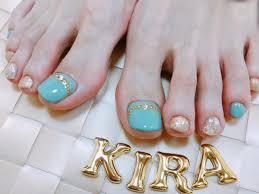 Kiraさんのインスタグラム写真 Kirainstagramフットネイルの季節に