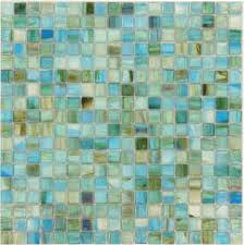 turquoise 5 8 x 5 8 glossy and iridescent glass
