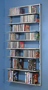... Wall Mounted Dvd Shelves The Old Racks Finally Wore Out And Was Time To  Upgrade I ...