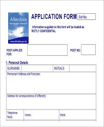Printable Sample Job Applications Template Job Application Form Employment Application Form Template
