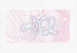scanned output from drawing apparatus