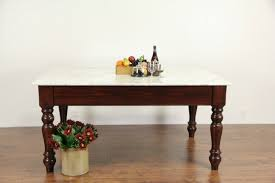 Antique Kitchen Work Tables Sold Marble Candy Store Work Table Counter Kitchen Island Pine