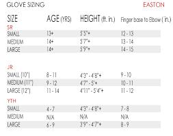 Easton Pro 7 Hockey Glove Jr
