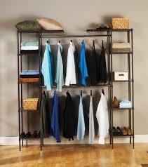 seville classics closet organizer bronze