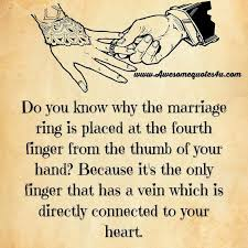 Quotes On Love And Marriage Best Love Quotes Do You Know Why The Marriage Ring Is Placed On The