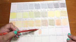 Caran D Ache Pablo Color Chart Part 1 Caran Dache Pablo Color Chart First 45 Colored Pencils