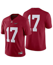 Mens Alabama Crimson Tide College Football Playoff Game Jersey