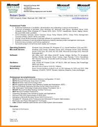 12 System Admin Resume Samples Job Apply Form
