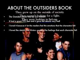 about the outsiders book