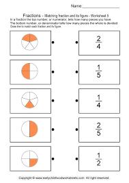 Writing Fractions Worksheet 3 Fraction Worksheets For Kindergarten ...