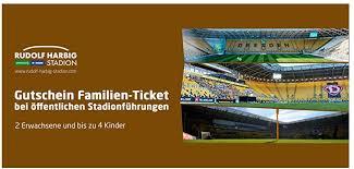 SG Dynamo Dresden GUTSCHEIN Family Ticket Public Stadium Tour:  Amazon.co.uk: Sports & Outdoors