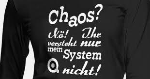 Chaos Nö Fun Adhs Sprüche Geschenk Frauen Premium