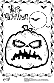 Small Picture scary halloween coloring pages to print Archives Best Coloring Page