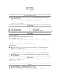 Retail Clerk Resume Grocery Store Clerk Resume Retail Sales shalomhouseus 1