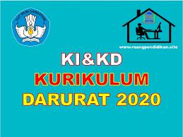 January 2, 2021by guru berkobar. Ki Dan Kd Kurikulum Darurat Covid 19 Jenjang Sd Mi Smp Mts Sma Ma Tahun 2020 2021 Ruang Pendidikan