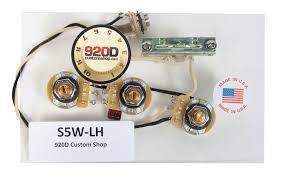 920d custom shop strat stratocaster left handed 5 way wiring 920d custom shop strat stratocaster left handed 5 way wiring harness c sigler music