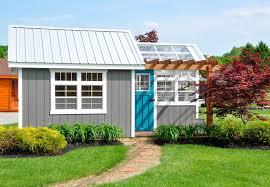 garden sheds potting sheds amish