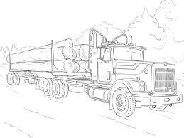 Kleurplaten Mercedesbenz Truck Kleurplaat Gratis Kleurplaten Printen