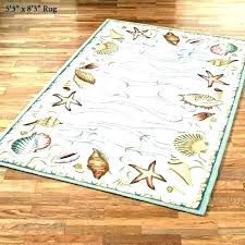 beach themed rugs ocean area coastal rug beneficial indoor outdoor