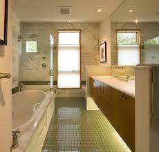 glass floor tiles. Bathroom With Glass Floor Contemporary-bathroom Tiles
