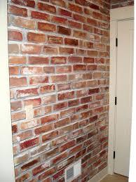 fake indoor brick wall bricks for walls